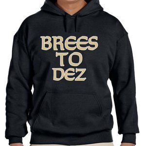 New Orleans Saints Brees To Dez Hooded Sweatshirt
